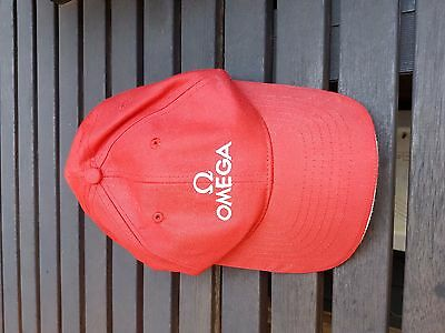 Omega Baseball Cap. Genuine. Adjustable, one size fits all. Unworn.