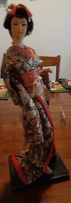 Wwii Era Geisha Doll Made In Japan - Very Rare - Beautiful Condition
