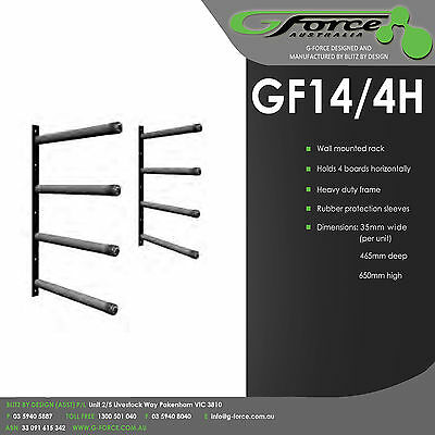 Wall mounted storage - Surfboard Rack -  G-Force GF14/4H