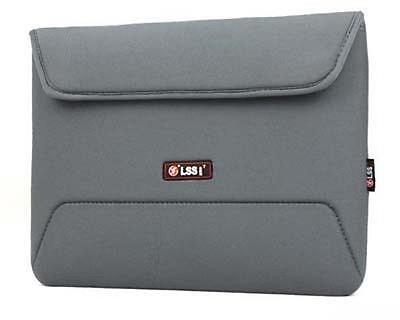 """Soft Sleeve Laptop Case Bag Pouch For 13.3"""" 13"""" Inch Notebook Grey"""