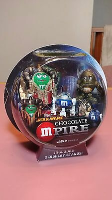 Star Wars - Chocolate Mpire Collectible Figures - Queen Amidala, C3PO, & R2D2