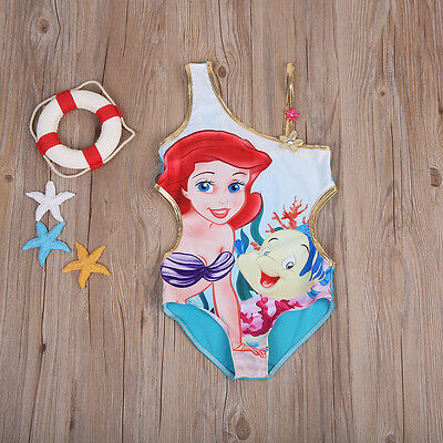 Kids Baby Girl Mermaid Bikini Swimwuit Swimwear Bathing Suit Swimming Beachwear