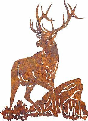 DXF CNC dxf for Plasma Router Clip Art Vector Deer #7 Man Cave