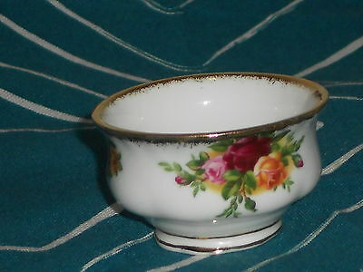 Royal Albert Old Country Roses RARE Miniature Sugar Bowl mint undermarked 1962