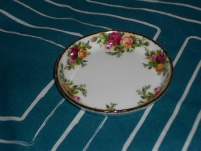 Royal Albert Old Country Roses RARE Coaster mint undermarked1962