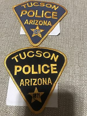 Tucson Arizona Police Patches - Old & New **100% To Charity**
