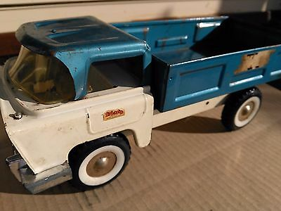 Tri-Ang Large Lorry Tip Dump Truck Tin Toy  Size As Boomaroo Triang Toys