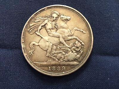 UK Silver Crown Coin
