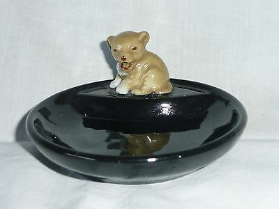Wade Whimtrays Lion Cub Pin Dish C1950's 7.5cms x 3.5cms Excellent Condition
