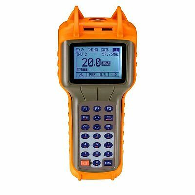 RY-S110 CATV Cable TV Handle Digital Signal Level Meter DB Tester 47-870MHz