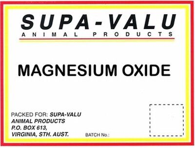 Magnesium Oxide ~ 1Kg ~ Calming  Supplement Aid For Horses