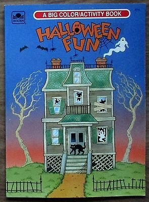Halloween Fun Coloring & Activity Golden Book (Vintage, uncolored).