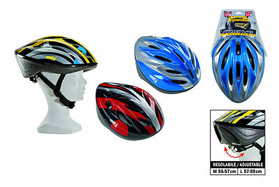 Sport1 casco sport senior regolabile Pattini e roller