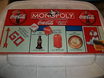 Monopoly Coca Cola collector's edition Sealed NEW