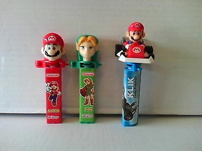 mario/links candy dispensers