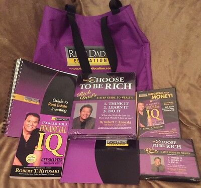 Rich Dad Money Making System With Books & CDs Brand New. Whole Program