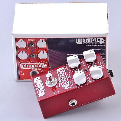 Wampler Pinnacle Distortion Guitar Effects Pedal w/ Box P-00426