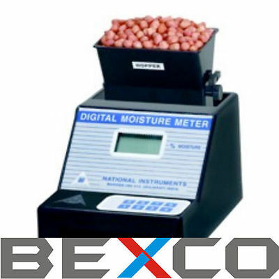 TOP QUALITY Digital Seed Grain Moisture Meter 220 V BY BRAND BEXCO DHL Shipping