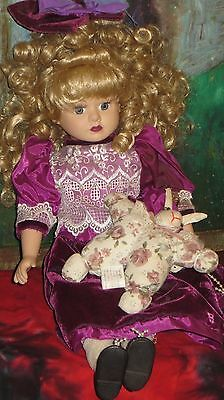 Haunted DOLL TRUE SPIRIT VESSEL  ORBS ACTIVE LILY DALE sweetheart w/ her bunny