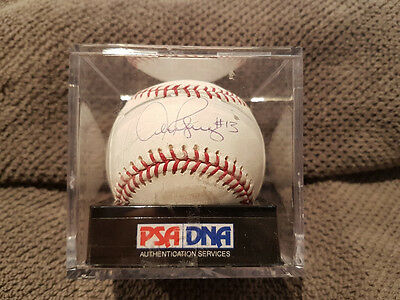 Yankees Alex Rodriguez Signed Baseball PSA/DNA Authenticated COA Autograph
