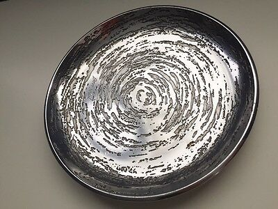 very nice signed metal dish Don Sheil