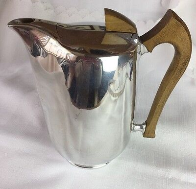 Picquot Ware Vintage Mid Century Coffee Pot C1950 Rockabilly Retro Caravan