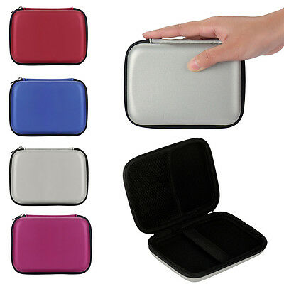"2.5"" Portable External Hard Drives Hard Shell Carry Zipper Bag Case For Seagate"