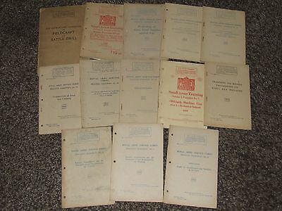 Small Collection of Original WW2 British Army RASC Training Pamphlets