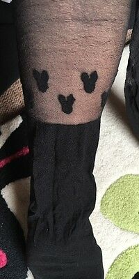 Mickey Mouse Tights Size S/M