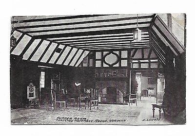 Thatched Assembly Rooms Norwich, The Supper Room 1905 Rare Postcard  64A