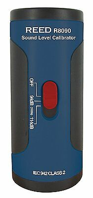 """Reed Instruments R8090 SC-05 Sound Level Calibrator for 1/2"""" Diameter +/-0.5dB"""