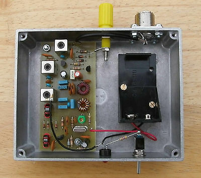 VLF Converter, 5kHz to 500kHz, ready built, made in Dorset UK