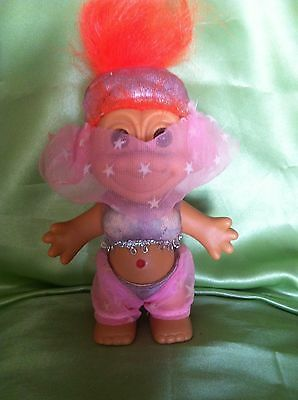 Troll Russ Vintage Bellie Dancer Genie  Doll Toy Collectable