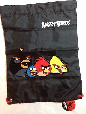Official Angry Birds Drawstring Gym/Trainer Bag