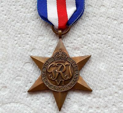 THE FRANCE AND GERMANY STAR - Genuine British WW2 War Medal