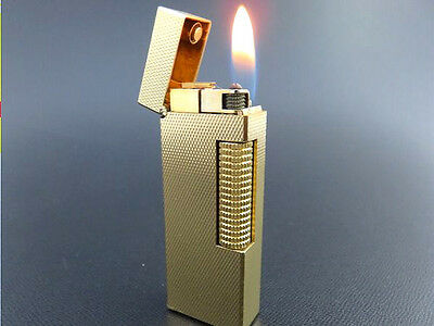 ALFRED Dunhill Vintage Rollagas Lighter Gold Plated [960]