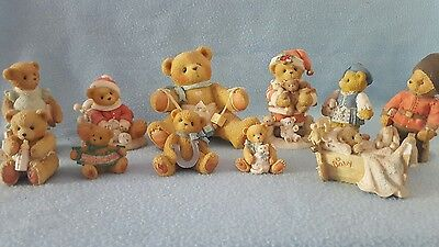 Cherished Teddies Collection of 11. LOT 7