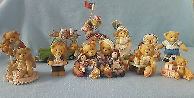 Cherished Teddies Collection of 11. LOT 6
