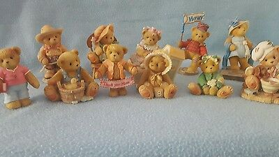 Cherished Teddies Collection of 11. LOT 5