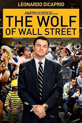 14375 the wolf of wall street TV Wall Print POSTER UK