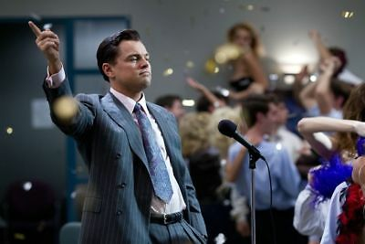 14609 the wolf of wall street TV Wall Print POSTER UK