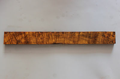 """5A Flame maple wood 25.6"""" guitar neck blank-woodworking lumber JB50"""