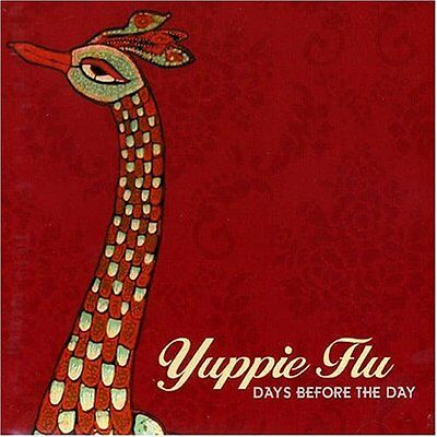 YUPPIE FLU - Days Before The Day [ 2017 LP - Limited Edition - Red Vinyl ]