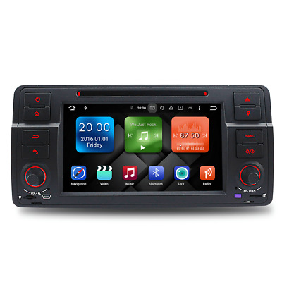 Android 7.1 DVD Player Radio Stereo GPS for BMW E46 3er 318 320 Rover 75 MG