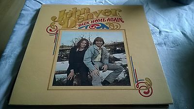 "John Denver Back Home Again  -  Vinyl Album LP 12""  1974"