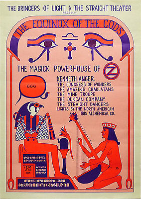 The 1967 The Equinox Of The Gods Benefit Concert Celebration For Lucifer Risi...