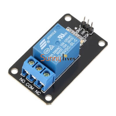 One 1 Channel 5V Relay Module Board Shield For Arduino PIC AVR ARM MCU New