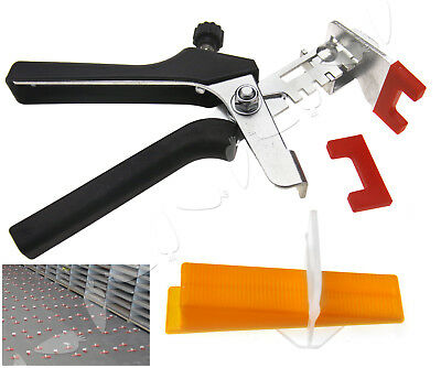 Large Tile Flooring Wall Leveling Spacer D Type System/Pliers Tool