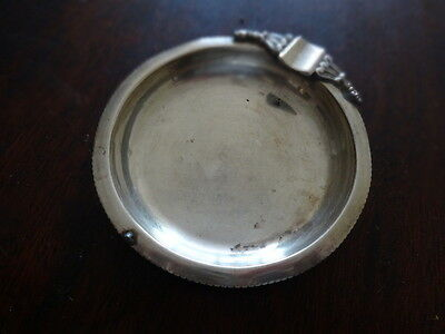 two sterling silver ashtrays 925