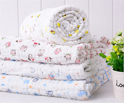 Baby Cute Products All Cotton Bath Towel Bundle Washcloth Varied Colors Styles